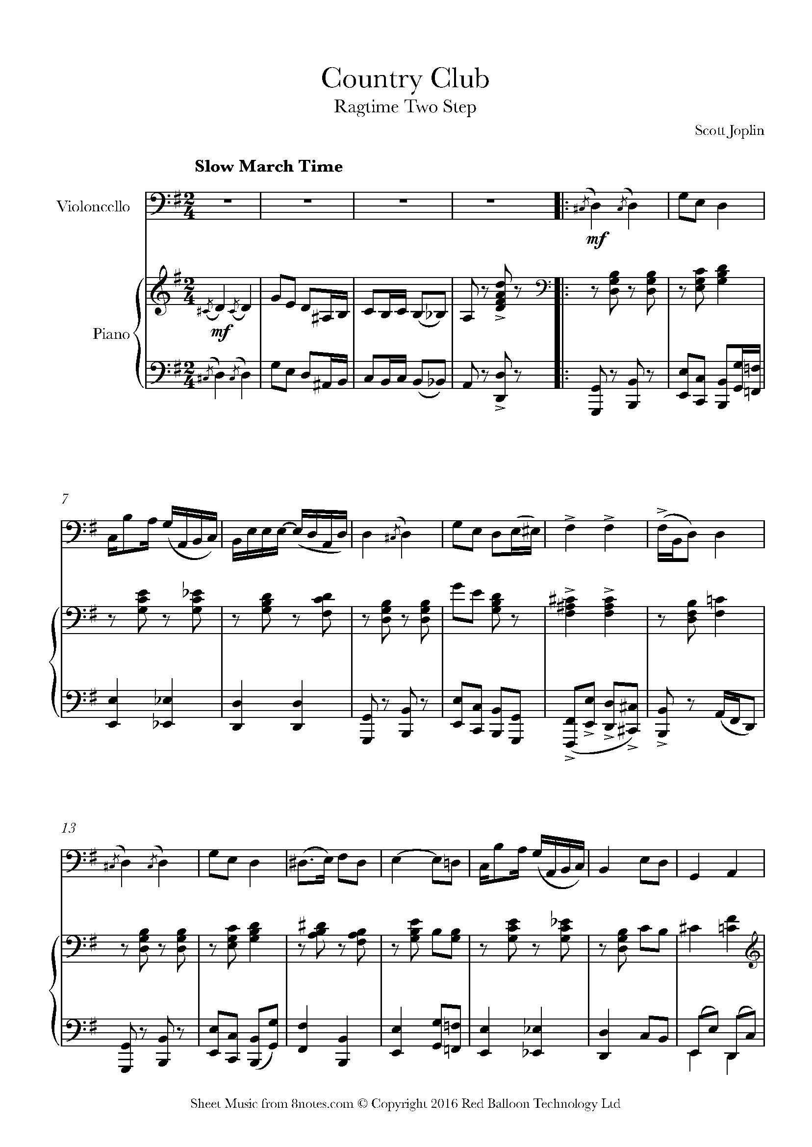 Free Cello Sheet Music, Lessons & Resources - 8notes com