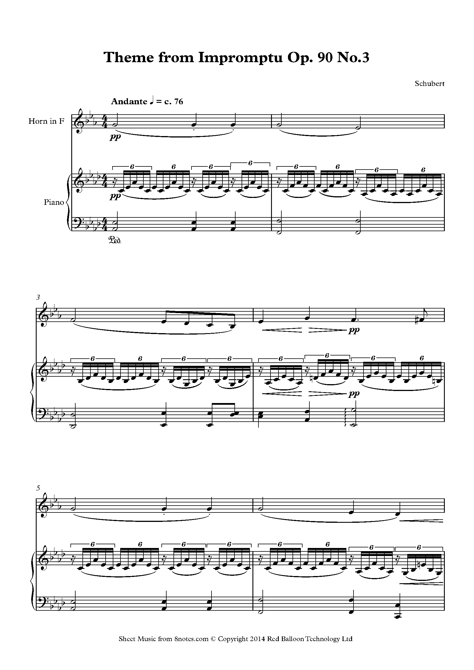 Free French Horn Sheet Music, Lessons & Resources - 8notes.com
