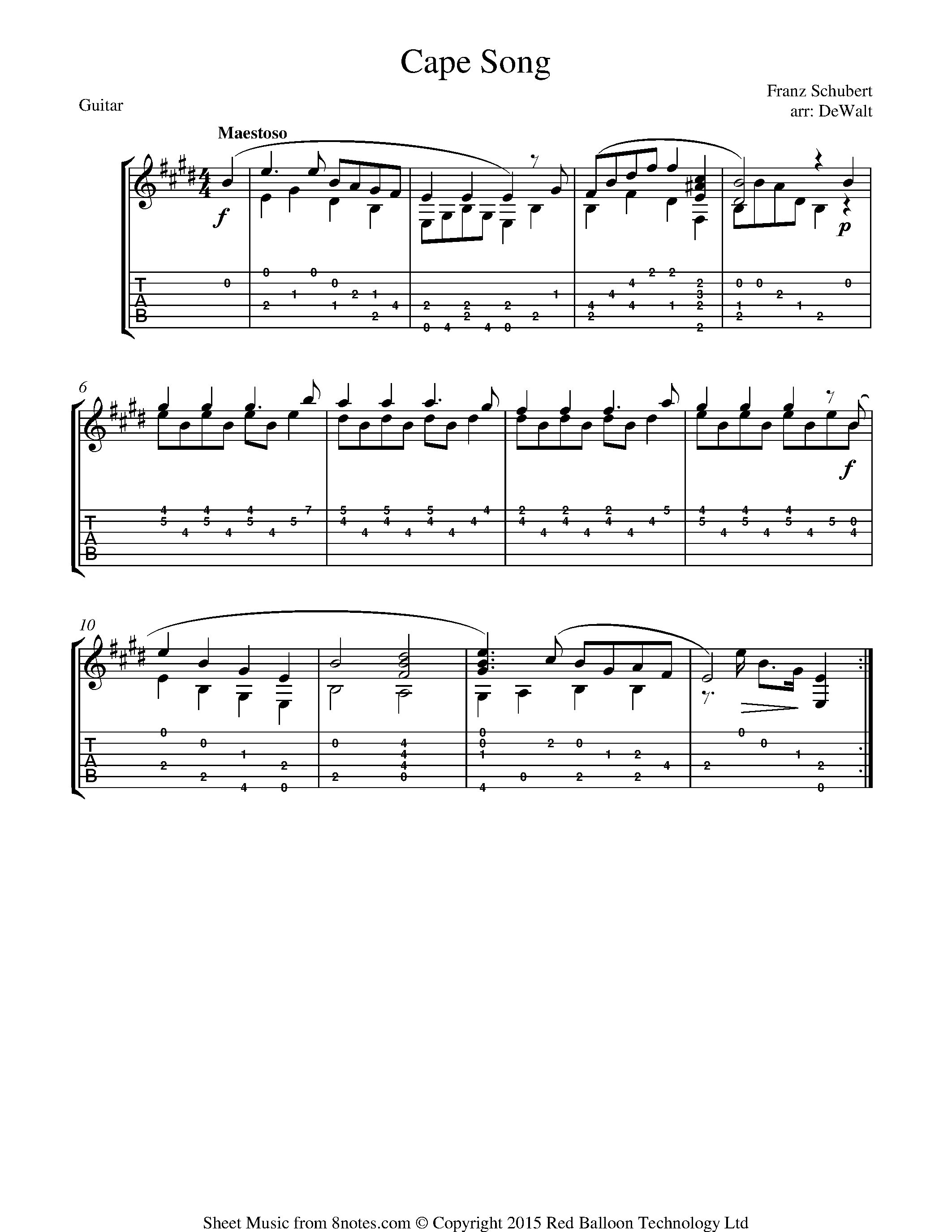 Free Guitar Sheet Music Lessons Resources