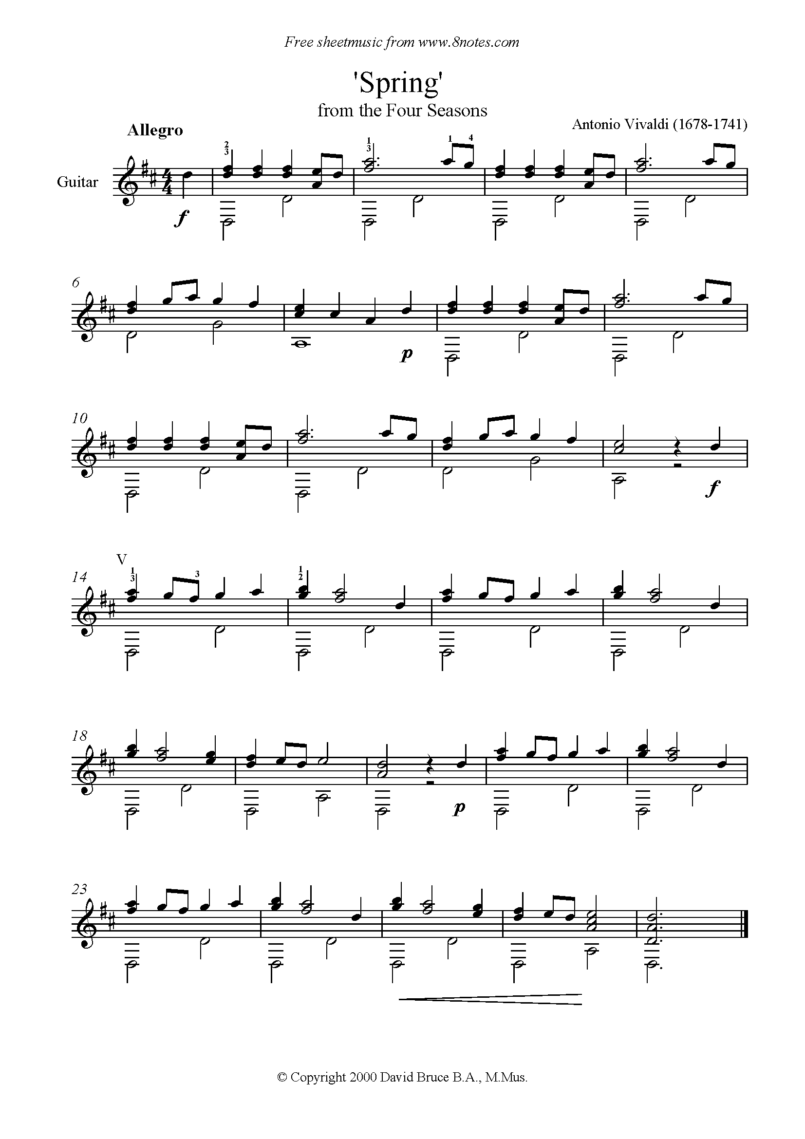 Vivaldi 4 Seasons Mp3