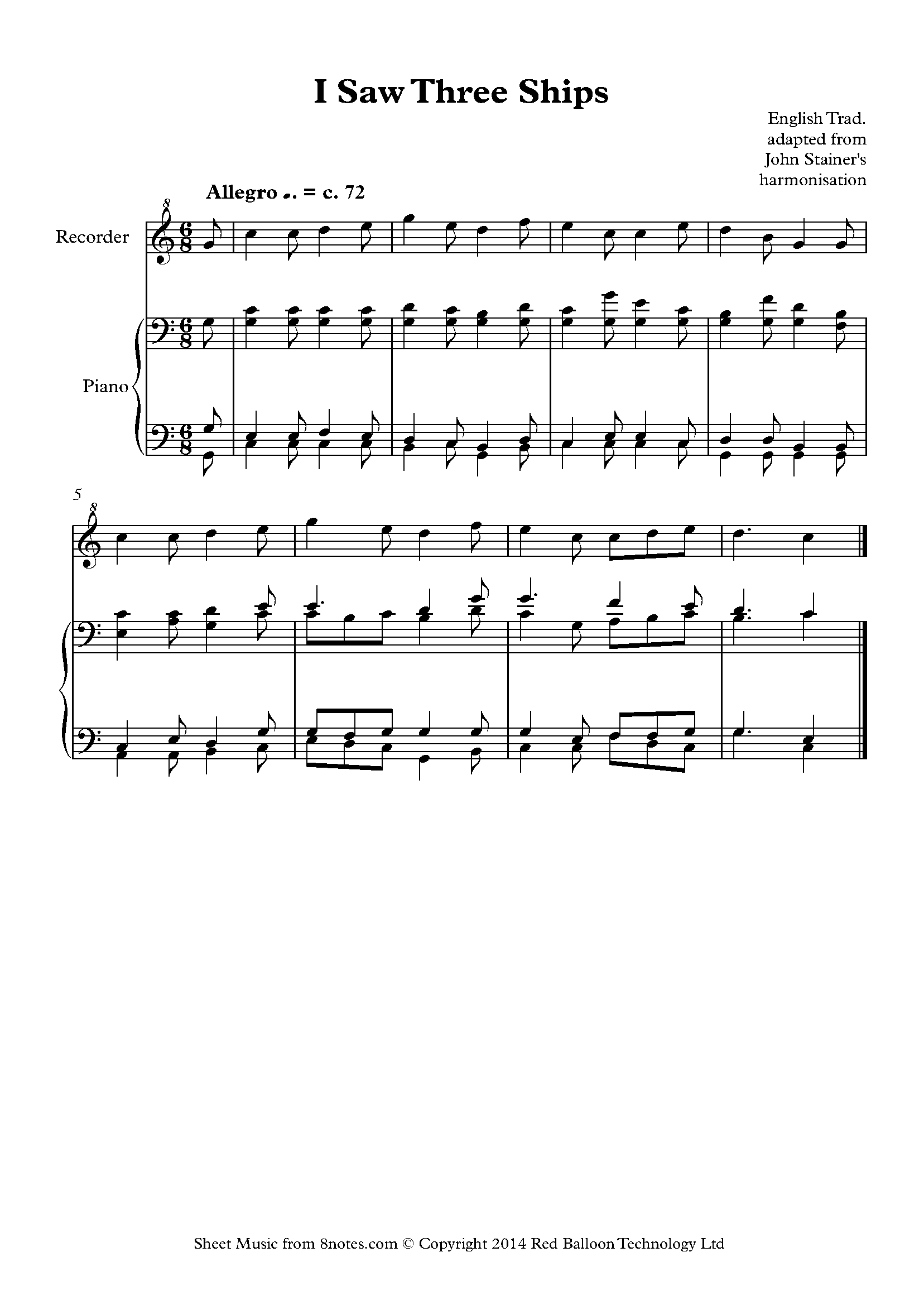 Free recorder sheet music lessons resources 8notes random pick in recorder hexwebz Choice Image