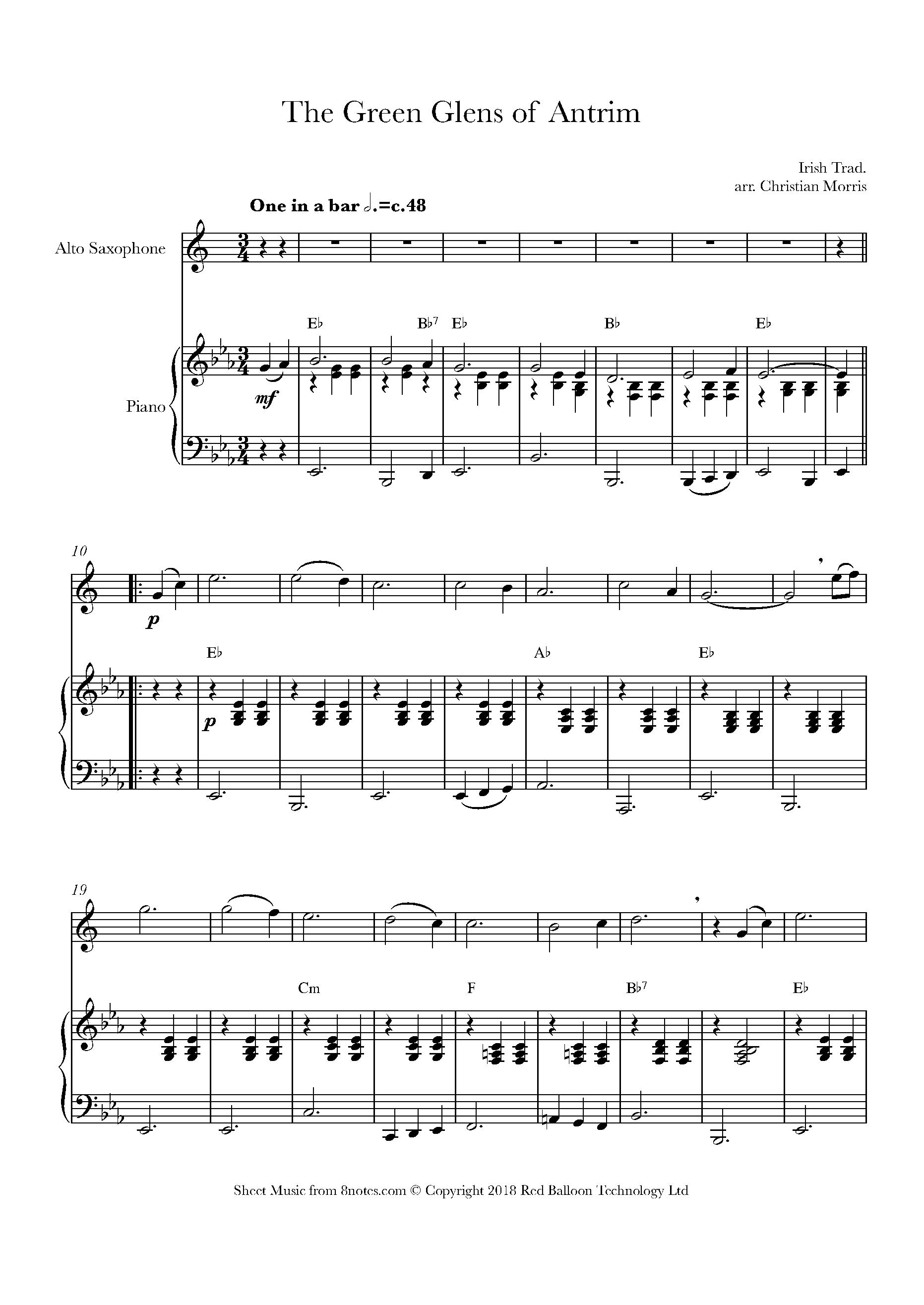random pick in alto sax