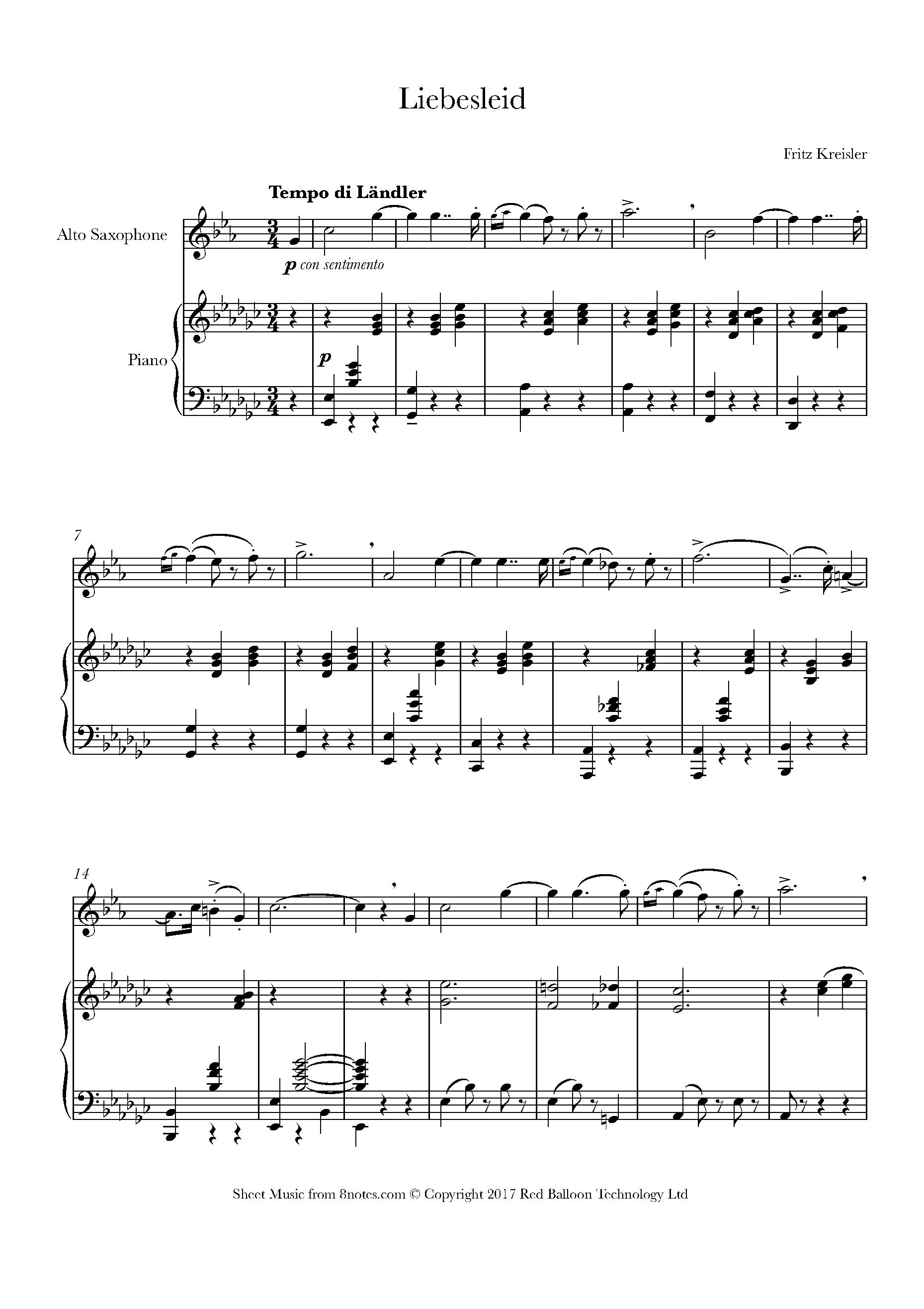 Free Alto Sax Sheet Music, Lessons & Resources - 8notes com