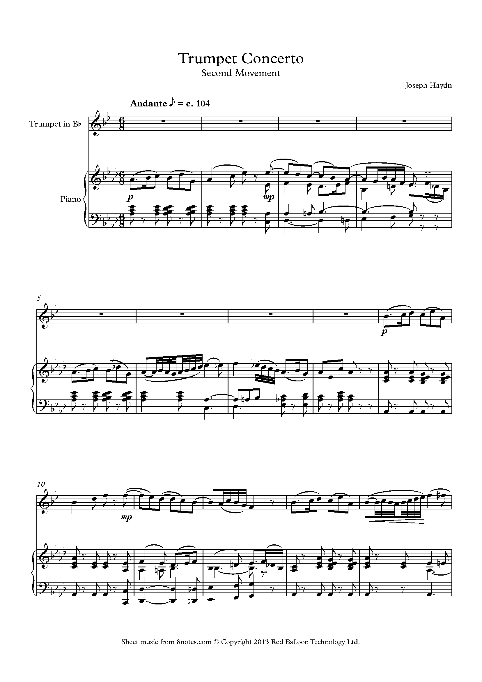 Trumpet Haydn Concerto Imslp