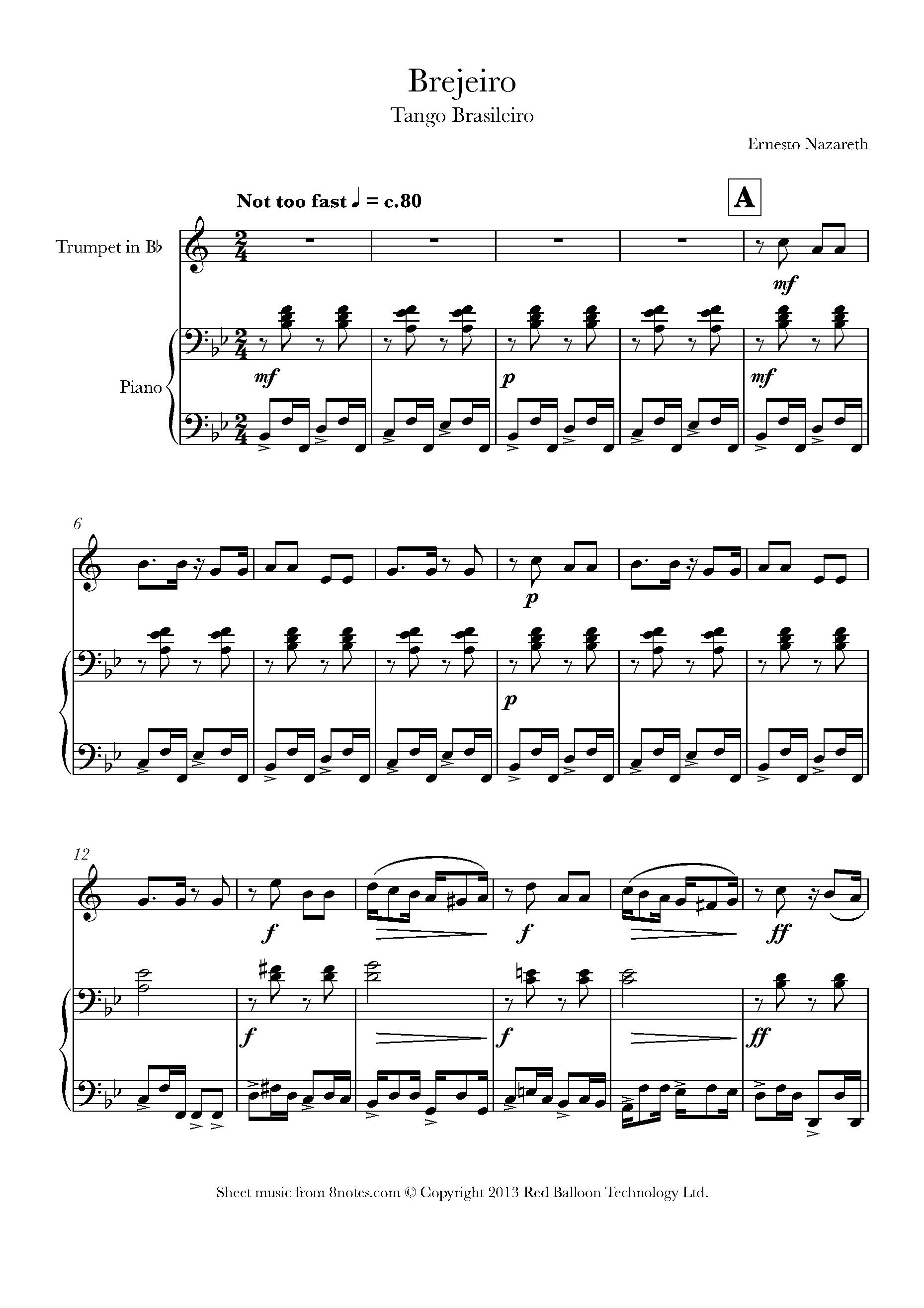 Trumpet Sheet Music Free Popular Songs idea gallery