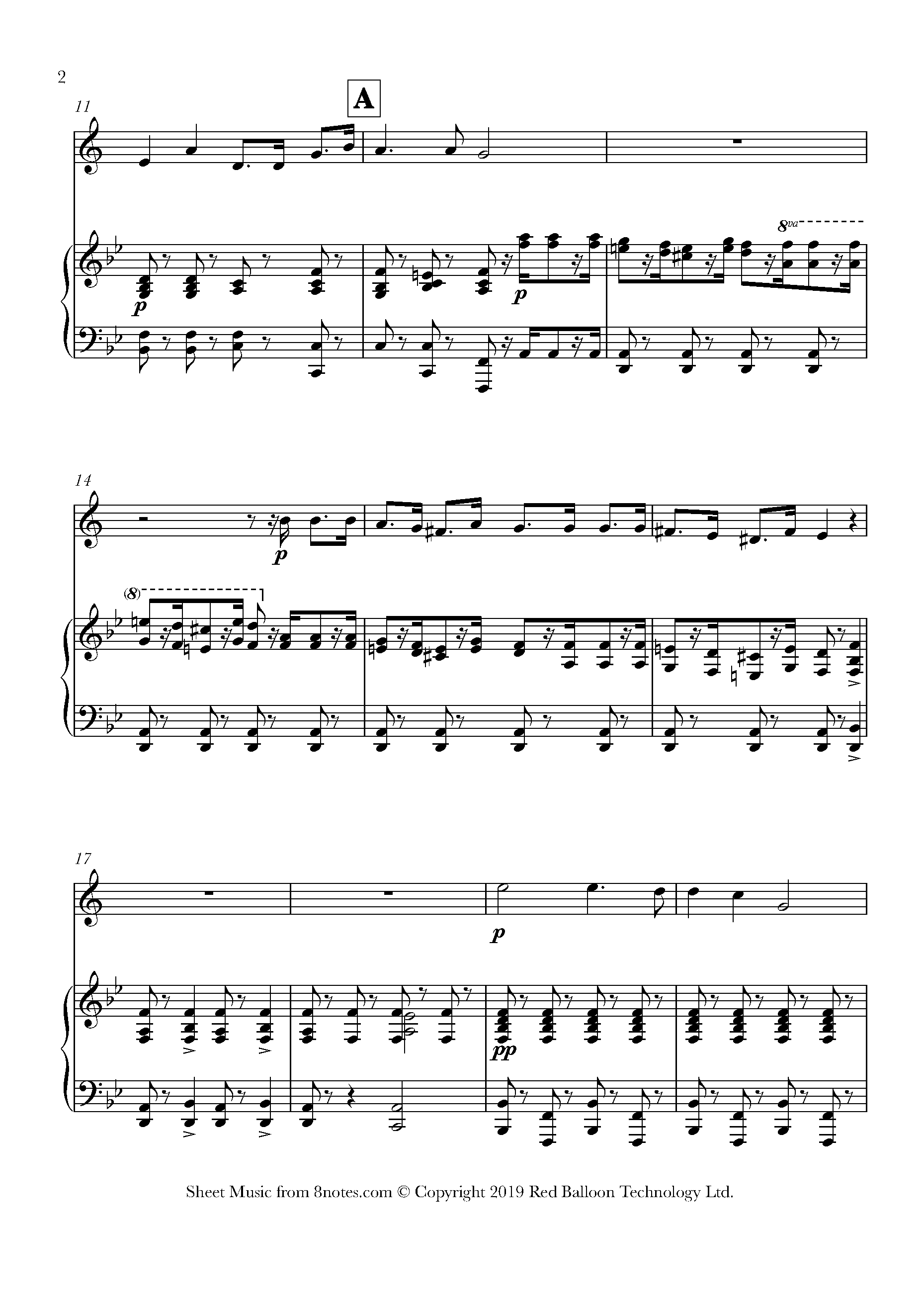 sullivan - with cat-like tread from the pirates of penzance sheet music for  trumpet - 8notes.com  8notes
