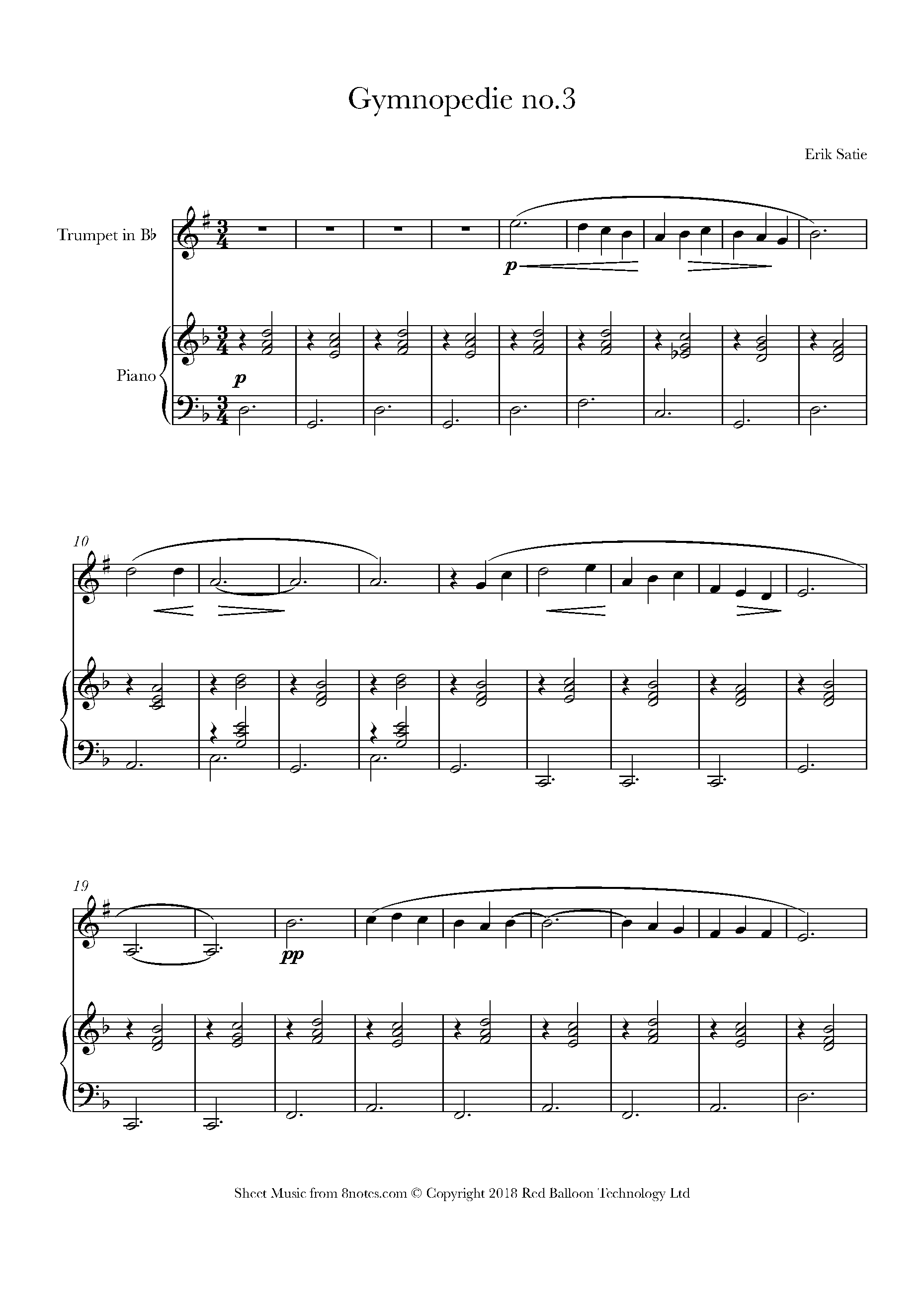 Free Trumpet Sheet Music Lessons Resources 8notescom