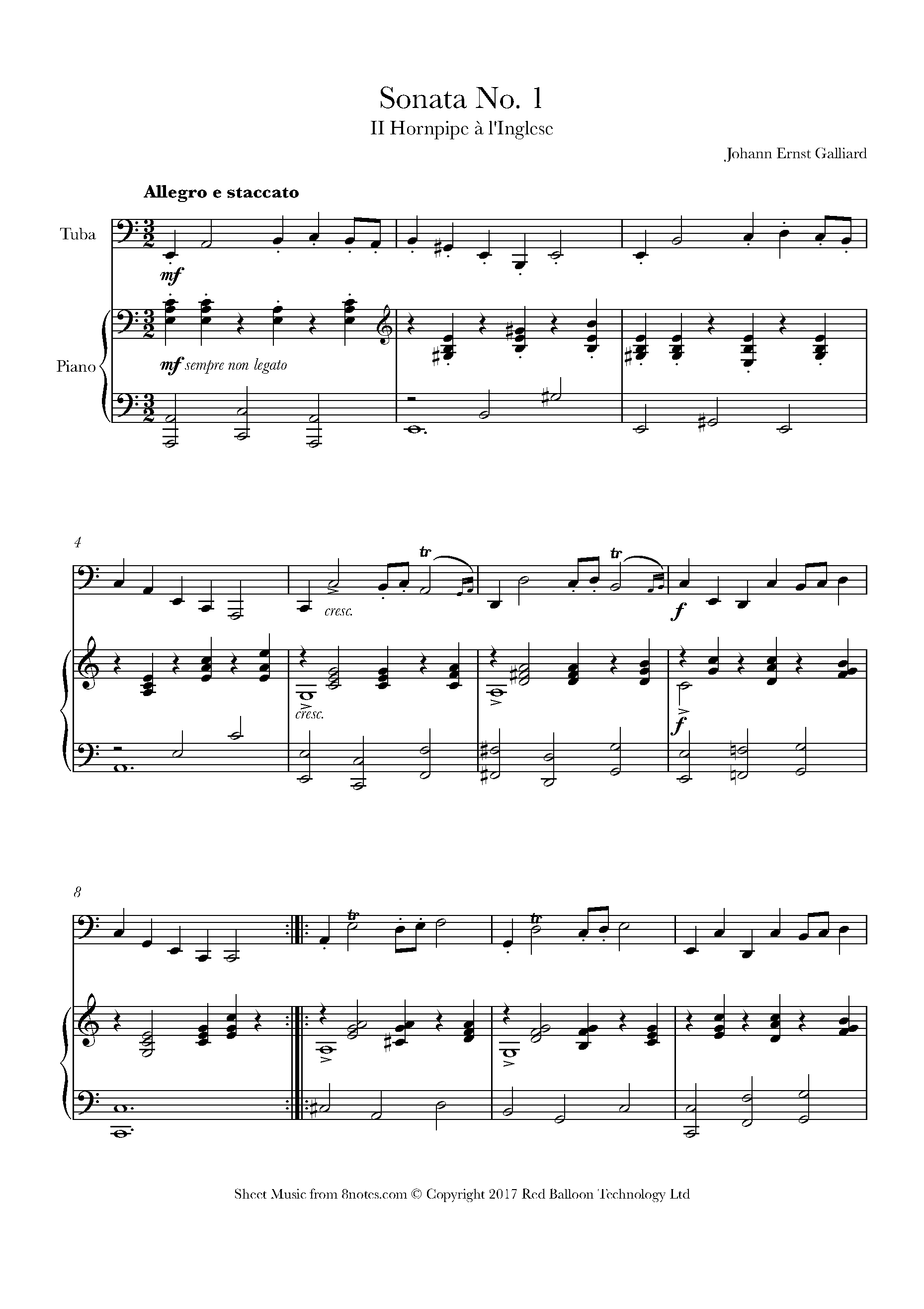 Free Tuba Sheet Music, Lessons & Resources - 8notes.com