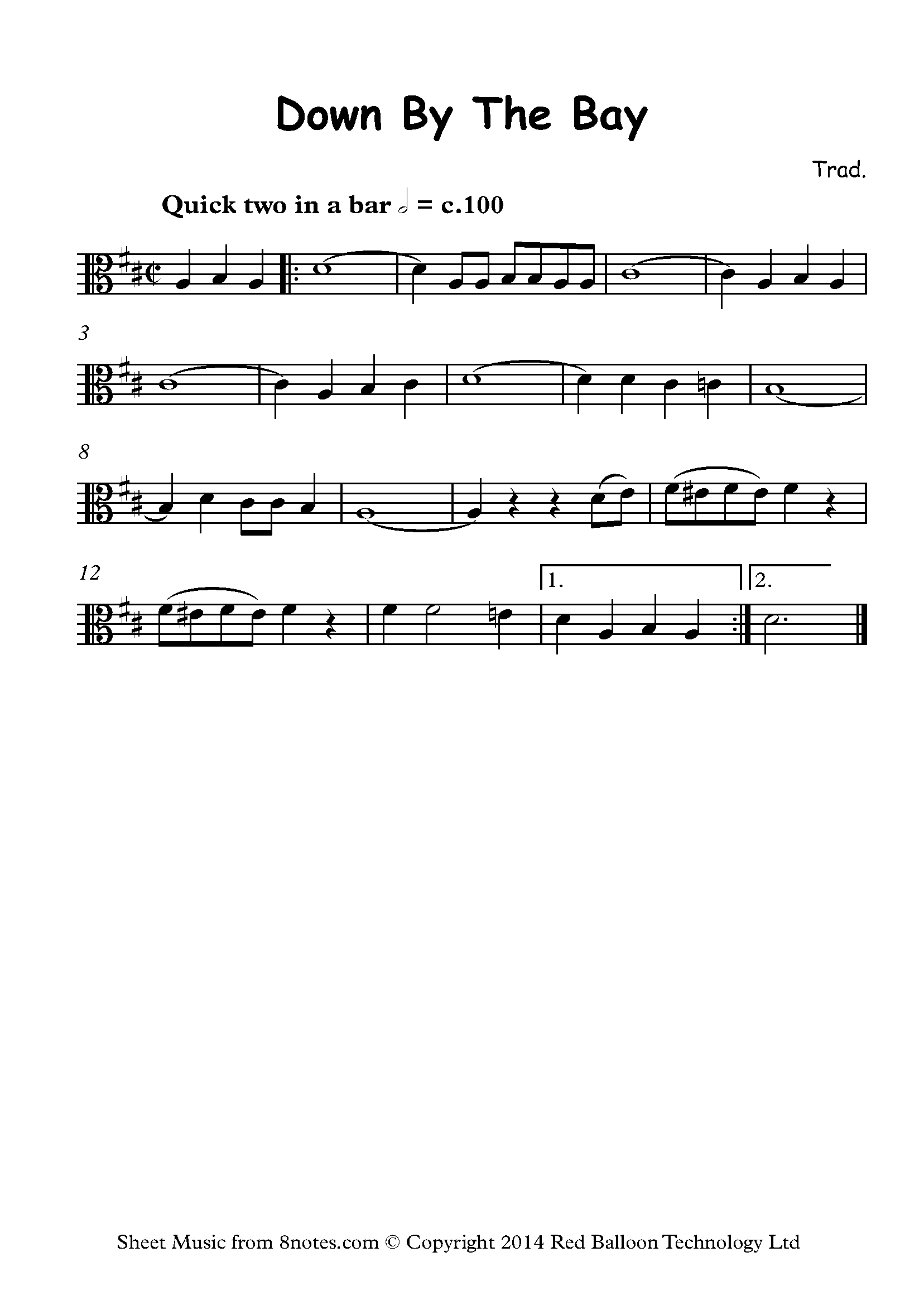 Free Viola Sheet Music, Lessons & Resources - 8notes com