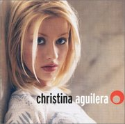Aguilera on the cover of her 1999 debut album, Christina Aguilera.
