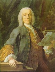 Domenico Scarlatti, portrayed by  in