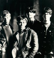 Breakthrough and uprising - from left: Dave Rowntree, Damon Albarn, Alex James and Graham Coxon