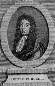 Another portrait of Henry Purcell