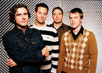 Jimmy Eat World promotional photograph, c. 2004.