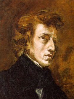 Frédéric-François Chopin, portrayed by .