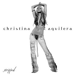 Aguilera on the cover of Stripped.