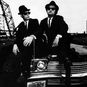 The Blues Brothers: Dan Aykroyd (left) and the late John Belushi