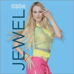 Jewel on the cover of her 2003 album