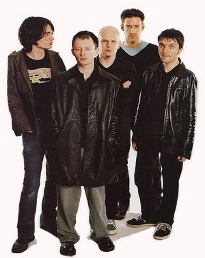 from left: Jonny, Thom, Phil, Ed and Colin