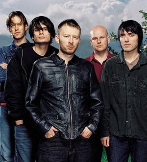 from left: Ed, Jonny, Thom, Phil and Colin