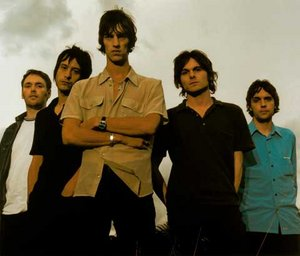 From left: Peter Salisbury, Simon Jones, Richard Ashcroft, Nick McCabe, Simon Tong
