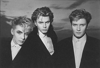 In 1986, Duran Duran was reduced to a trio: Rhodes, John Taylor, Le Bon