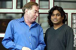 Lord Lloyd-Webber with