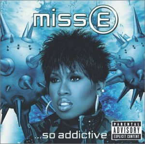 Missy Elliott on the cover of her album Miss E. So Addictive