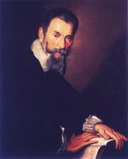 Portrait of Claudio Monteverdi in Venice, 1640, by