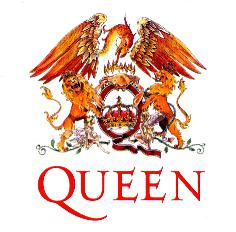 El logo de Queen, diseñado por