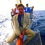 "The members of Duran Duran were making fun of themselves in the ""Rio"" video."